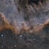 NGC7000 Cygnus wall detail